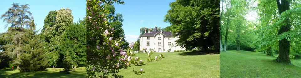 Le parc du château de Saint Bonnet