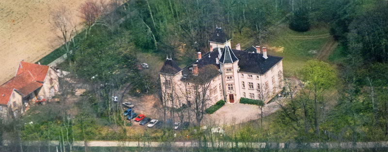 Château de Saint Bonnet de Valclérieux