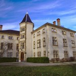 L'entrée du château de l'association Cénéric