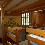 Chambres du château de Saint Bonnet de Valclérieux