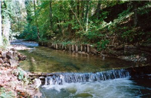 la riviere près du château